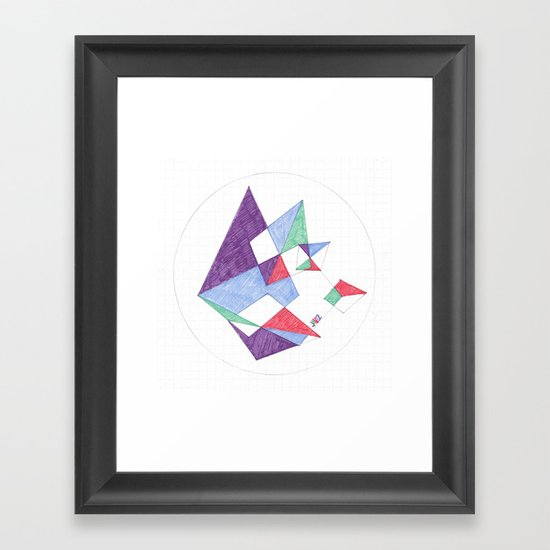 Kite-netic #1 Framed Art Print