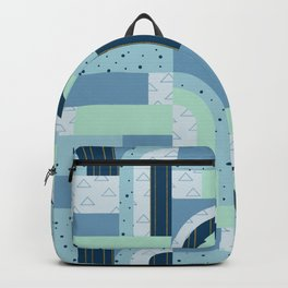 Ice Xmas Quilt Backpack