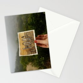 Mile 100 Pacific Crest Trail Stationery Cards