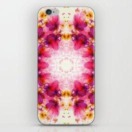 Butterflies Mandala iPhone Skin