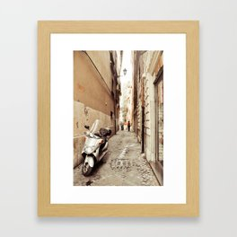 Postcards from Italy: Rome Framed Art Print
