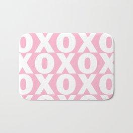 XOXO - Light Pink Pattern Bath Mat