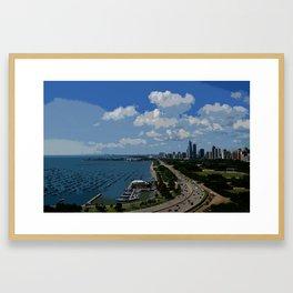 Lake Shore Drive Chicago Framed Art Print