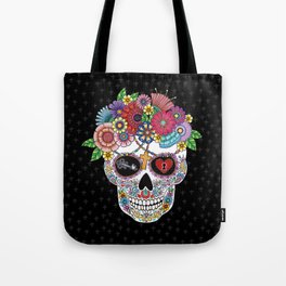 Lost Love BLACK Tote Bag