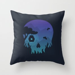 Anything can be beautiful Throw Pillow