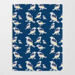 Happy Birds Poster