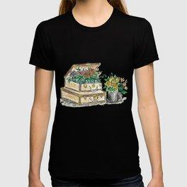 Flower Suit Cases T-shirt