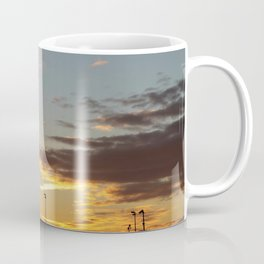 Sunset at the Edge of Town Coffee Mug