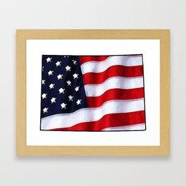 Patriotic Colorado Framed Art Print