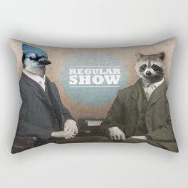 Mordecai & Rigby Rectangular Pillow