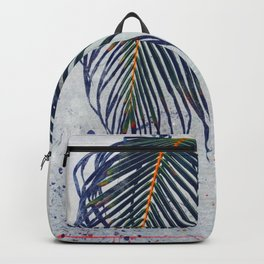 Storms don't last forever. Backpack