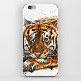 Tiger Wild and Free iPhone Skin