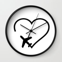 Travel Completes the Soul Wall Clock