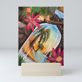 Hidden Treasure Mini Art Print