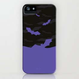 Flying Bats iPhone Case
