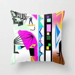 C Ara Bag Throw Pillow