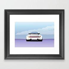 1974 Porsche 911 RSR 3.0 Carrera Framed Art Print
