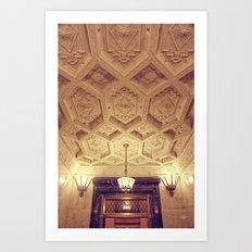 Alamo Ceiling Art Print