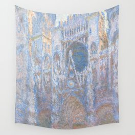 """Claude Monet """"Rouen Cathedral, West Façade"""" Wall Tapestry"""
