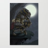 predator Canvas Prints featuring Predator by Sean Sweeney