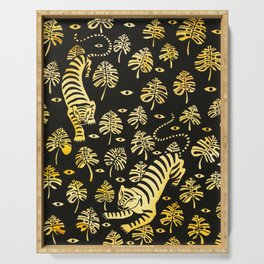 Tiger jungle animal pattern Serving Tray