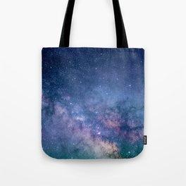 Milky Way Stars (Starry Night Sky) Tote Bag