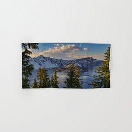 Crater Lake - Spring Hand & Bath Towel