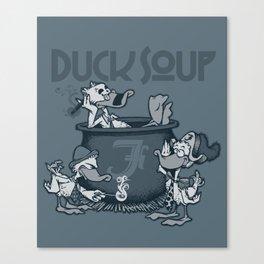 Duck Soup Canvas Print