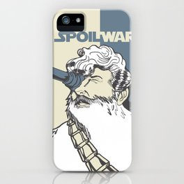 Spoil Wars iPhone Case