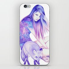 Galaxy Wanderer iPhone & iPod Skin