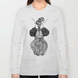 Mantis Girl Nr. 1 Long Sleeve T-shirt