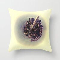 chicago Throw Pillows featuring Chicago by Valerie Manne