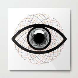 Magic eye #society6 #decor #buyart #artprint Metal Print
