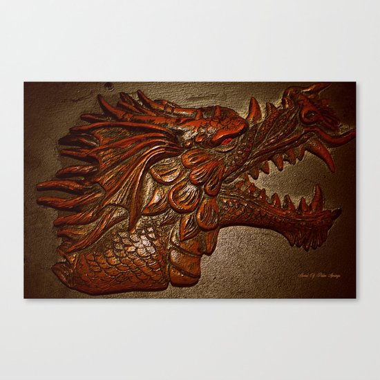 YEAR OF THE DRAGON.. Canvas Print