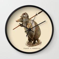 Armadillo (option) Wall Clock