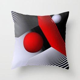 3D-geometry -1- Throw Pillow