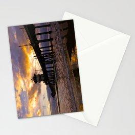 Huntington Beach Pier Sunset ~ Huntington Beach Pier CA  Stationery Cards