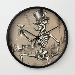 Mr Lucky Wall Clock