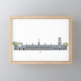 Palacio de las Academias Framed Mini Art Print