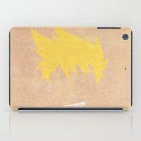 gurren lagann iPad Cases featuring Minimalist Kittan by 5eth
