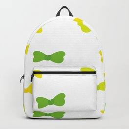Bow Tie Pattern Backpack