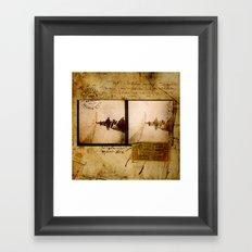 Ephemera 1 Framed Art Print