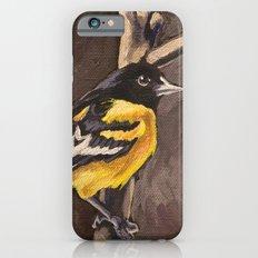 Baltimore Oriole Slim Case iPhone 6s