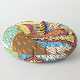 Pollo Loco Floor Pillow