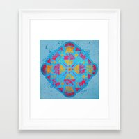 spiritual Framed Art Prints featuring Spiritual by Caroline David
