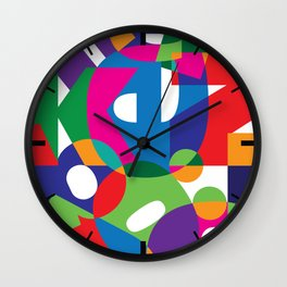 Letter land Wall Clock