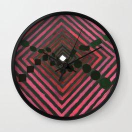 Converge & Diverge Wall Clock