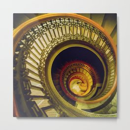 Day Forty-Two: Pretty Amazing Stairs! Metal Print