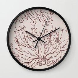Growing of sorrow Wall Clock