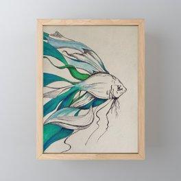 Fish in color Framed Mini Art Print